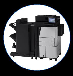 HP LaserJet Flow M830