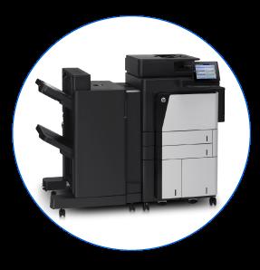 HP LaserJet Flow M880