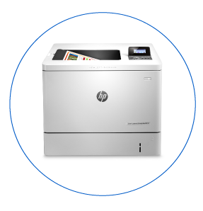 HP LaserJet Color M553