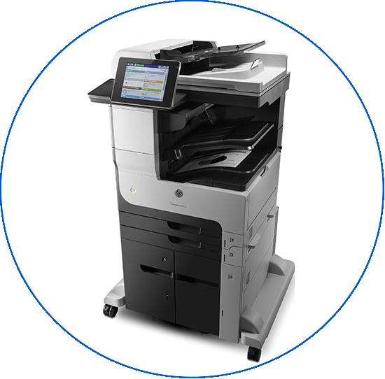 fotocopiadoras multifuncionales A3 color hp