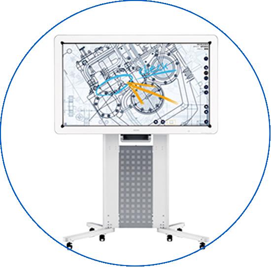 Audiovisuales pantalla interactiva coslada