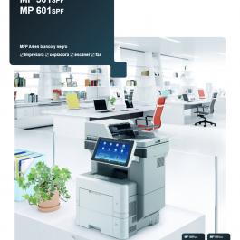 Multifunción Monocromo A4 RICOH MP 501SPF / 601SPF