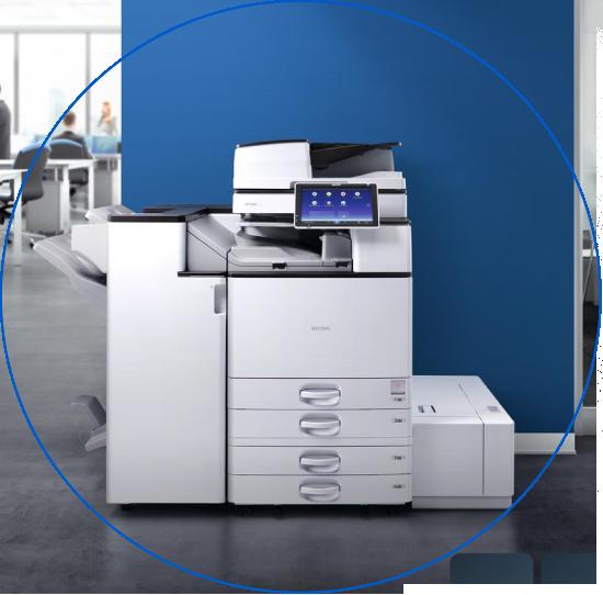 fotocopiadora multifuncional blanco y negro coslada