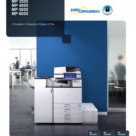 fotocopiadora monocromo A4 ricoh
