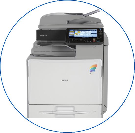 fotocopiadora multifuncional A4 color ricoh